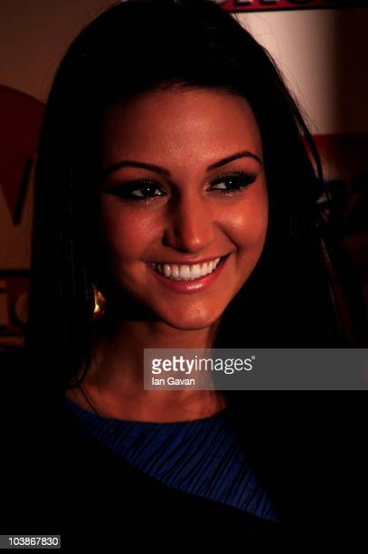 Michelle Keegan arrives at the TV Choice Awards 2010 at The Dorchester on September 6 2010 in London England