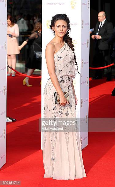 Michelle Keegan arrives for the House Of Fraser British Academy Television Awards 2016 at the Royal Festival Hall on May 8 2016 in London England