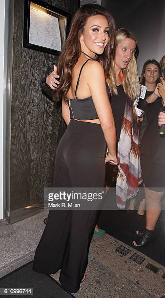 Michelle Keegan at Nobu Berkeley Street for the Lipsy party on September 28 2016 in London England