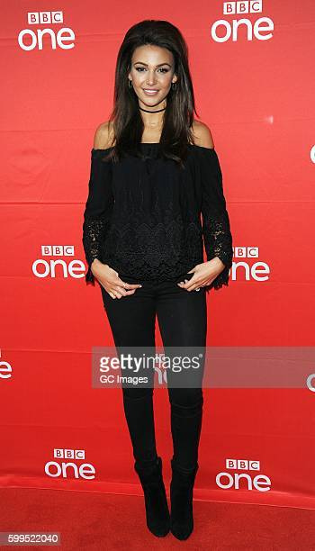 Michelle Keegan at the launch of BBC new drama 'Our Girl' at Home arts centre on September 5 2016 in Manchester England
