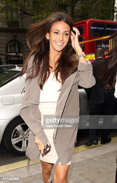 Michelle Keegan at the ME hotel for the Michelle Keegan Lipsy clothing launch party on May 7 2015 in London England