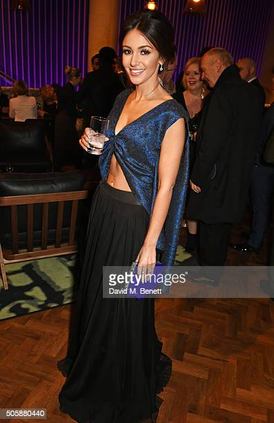 Michelle Keegan attends the 21st National Television Awards at The O2 Arena on January 20 2016 in London England