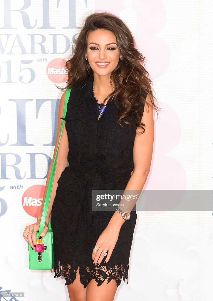 Michelle Keegan attends the BRIT Awards 2015 at The O2 Arena on February 25, 2015 in London, England.
