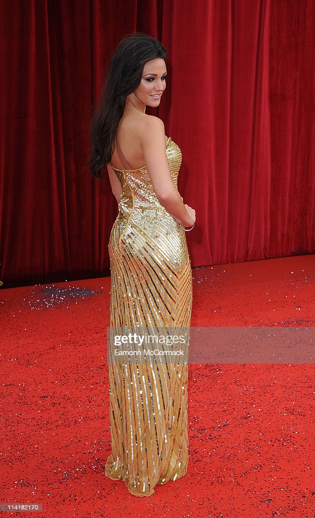 Michelle Keegan attends 'The British Soap Awards' at Granada Television Studios on May 14, 2011 in Manchester, England.