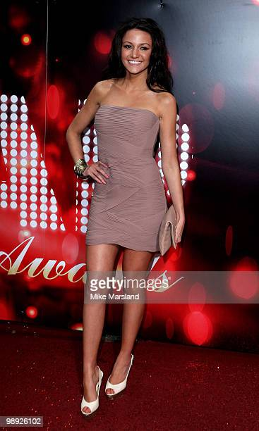 Michelle Keegan attends the British Soap Awards at The London Television Centre on May 8 2010 in London England