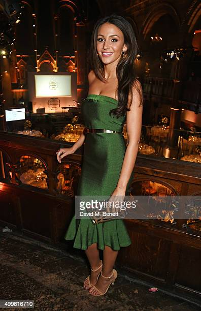 Michelle Keegan attends the Cosmopolitan Ultimate Women Of The Year awards at One Mayfair on December 2 2015 in London England