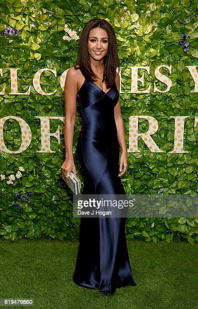 Michelle Keegan attends the Daily Mirror Pride of Britain Awards in Partnership with TSB at The Grosvenor House Hotel on October 31 2016 in London...