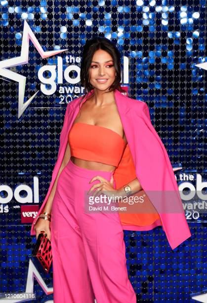 Michelle Keegan attends The Global Awards 2020 at the Eventim Apollo Hammersmith on March 05 2020 in London England