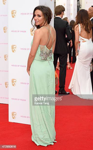 Michelle Keegan attends the House of Fraser British Academy Television Awards at Theatre Royal on May 10 2015 in London England
