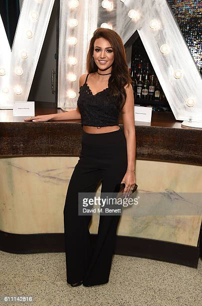 Michelle Keegan attends the launch of Michelle Keegan's new collection in collaboration with Lipsy at Nobu Berkeley on September 28 2016 in London...