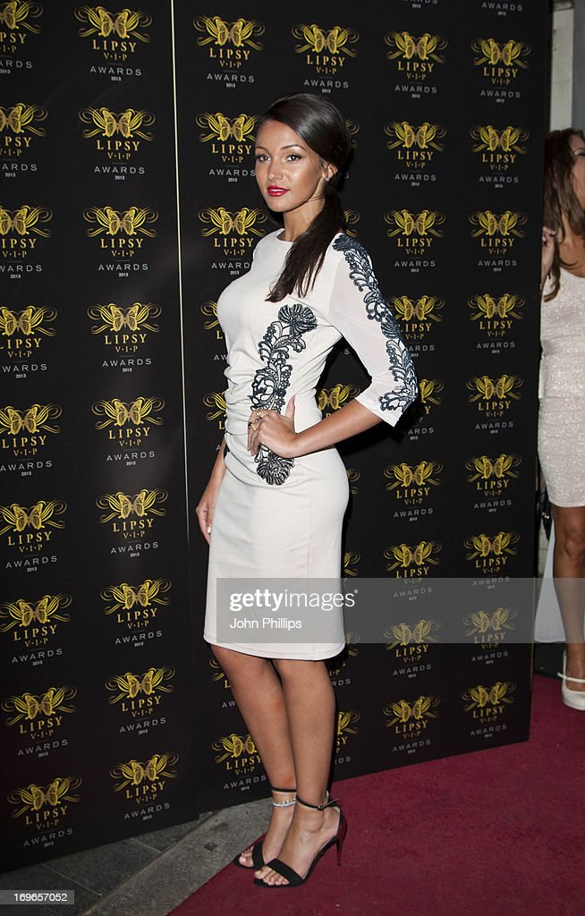 Michelle Keegan attends the Lipsy VIP Fashion Awards 2013 at Dstrkt on May 29, 2013 in London, England.