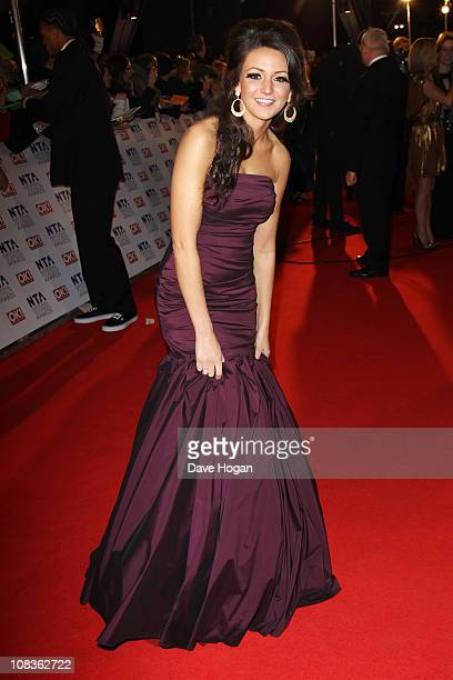 Michelle Keegan attends the National Television Awards 2011 held at Indigo at The O2 Arena on January 26 2011 in London England
