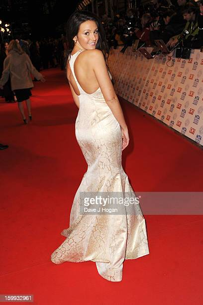 Michelle Keegan attends the National Television Awards 2013 at The O2 Arena on January 23 2013 in London England