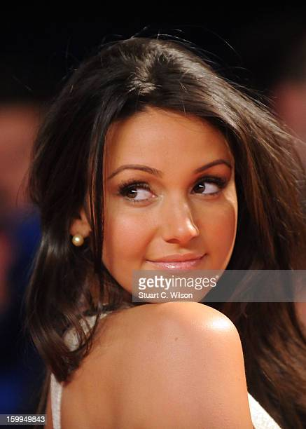 Michelle Keegan attends the National Television Awards at 02 Arena on January 23 2013 in London England
