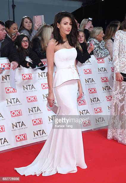 Michelle Keegan attends the National Television Awards at The O2 Arena on January 25 2017 in London England