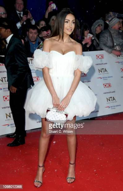 Michelle Keegan attends the National Television Awards held at the O2 Arena on January 22 2019 in London England