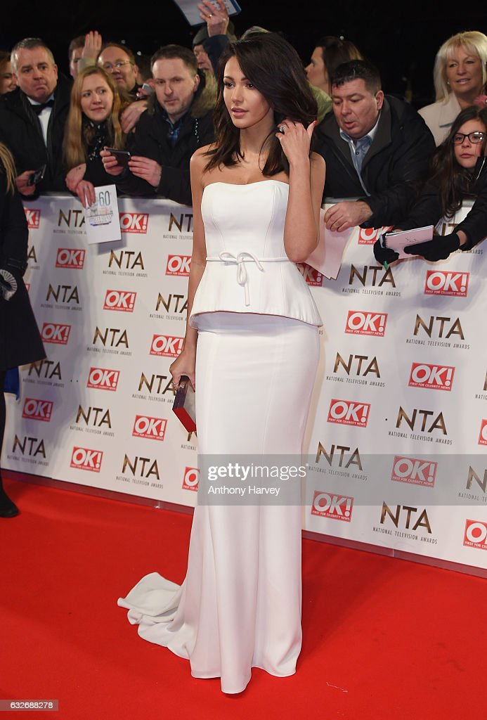 Michelle Keegan attends the National Television Awards on January 25, 2017 in London, United Kingdom.