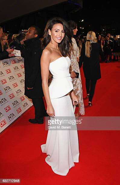 Michelle Keegan attends the National Television Awards on January 25 2017 in London United Kingdom