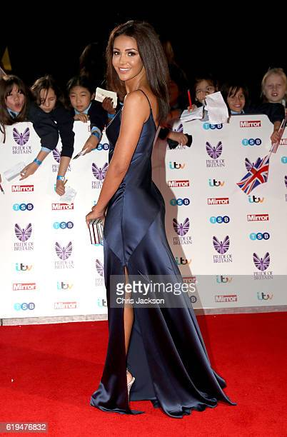 Michelle Keegan attends the Pride Of Britain awards at the Grosvenor House Hotel on October 31 2016 in London England