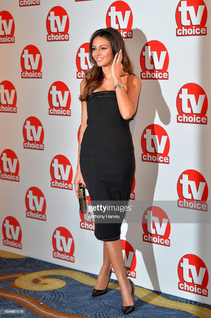 Michelle Keegan attends the TV Choice Awards 2014 at London Hilton on September 8, 2014 in London, England.