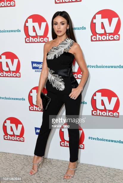 Michelle Keegan attends the TV Choice Awards at The Dorchester on September 10 2018 in London England