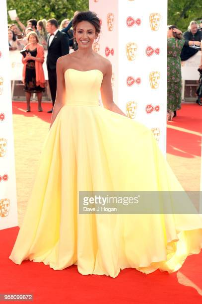 Michelle Keegan attends the Virgin TV British Academy Television Awards at The Royal Festival Hall on May 13 2018 in London England