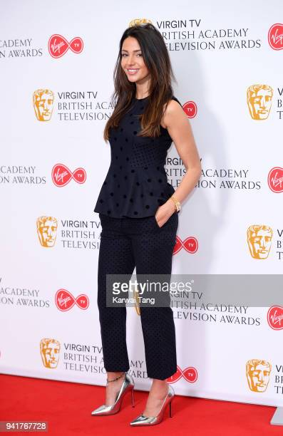 Michelle Keegan attends the Virgin TV British Academy Television Awards Nominations Press Conference at BAFTA on April 4 2018 in London England