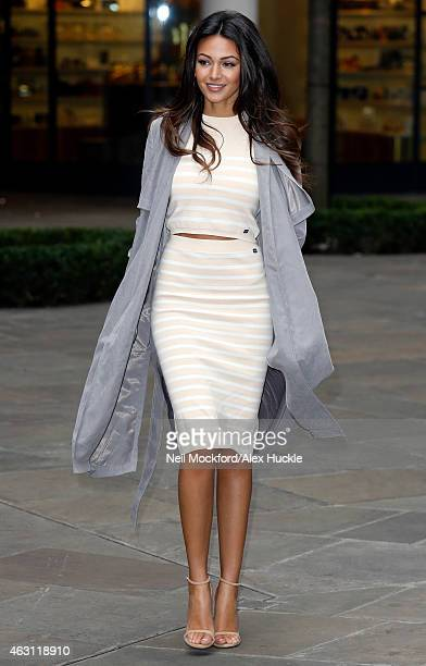 757c75367e45 Michelle Keegan pictured at the Hamyard Hotel promoting her SS15 Summer  collection for Lipsy on February