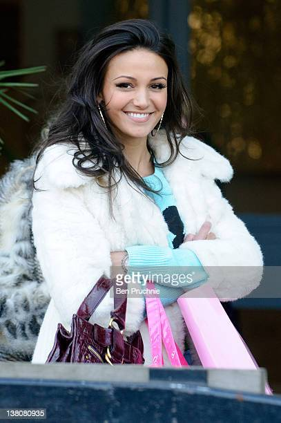 Michelle Keegan sighted in London on February 2 2012 in London England