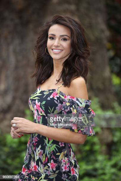 Michelle Keegan takes part in her first catwalk Show for Verycouk at One Marylebone on April 24 2018 in London England