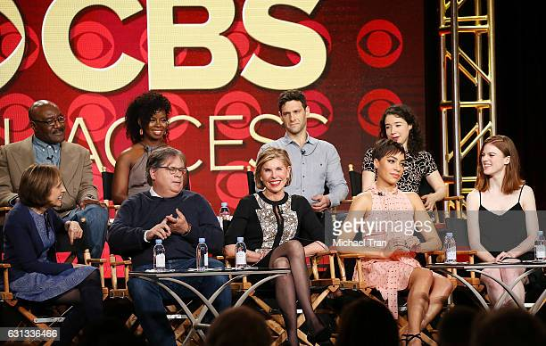 Michelle King Robert King Delroy Lindo Erica Tazel Christine Baranski Justin Bartha Cush Jumbo Rose Leslie and Sarah Steele for the television show...