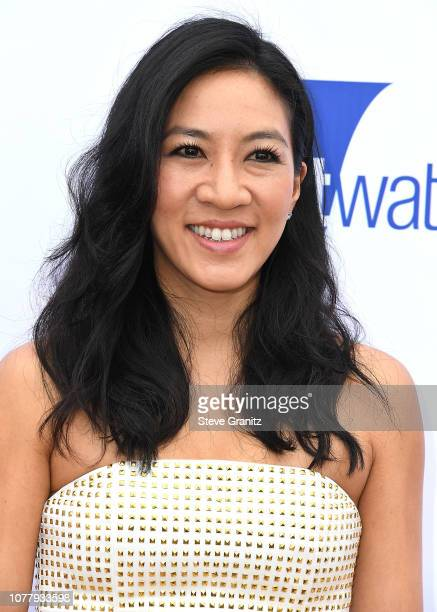 Michelle Kwan arrives at the 6th Annual Gold Meets Golden at The House on Sunset on January 5 2019 in Beverly Hills California