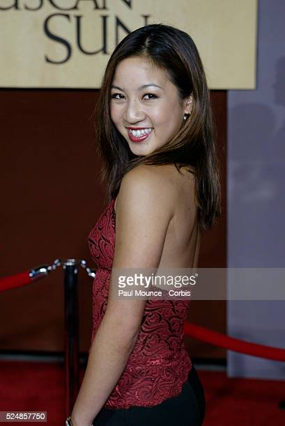 Michelle Kwan arrives at the world premiere of Under the Tuscan Sun at the El Capitan Theater