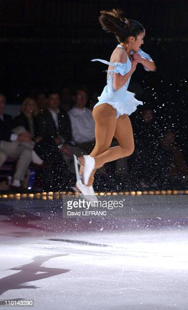 Michelle Kwan at the USFA presentation of 'A Skating Tribute The Legacy of the 1961 US World Figure Skating Team' at Madison Square Garden on October...