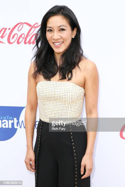 Michelle Kwan attends the 6th annual Gold Meets Golden party hosted by Nicole Kidman and Nadia Comaneci at The House on Sunset on January 05 2019 in...