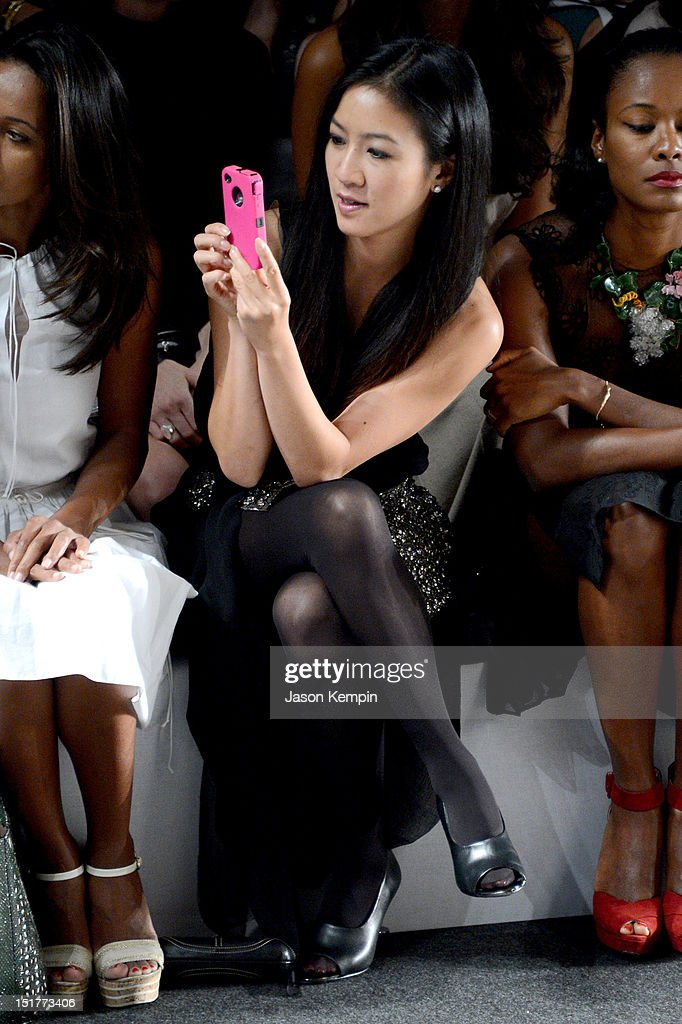 Vera Wang - Front Row - Spring 2013 Mercedes-Benz Fashion Week