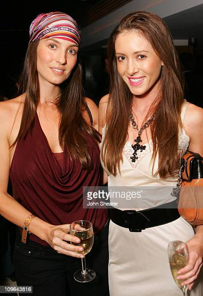 Michelle Laine and Amanda Braun during Baume Mercier Club Phi Previews the 2006 Fall Collection Red Carpet and Inside at area in Los Angeles...