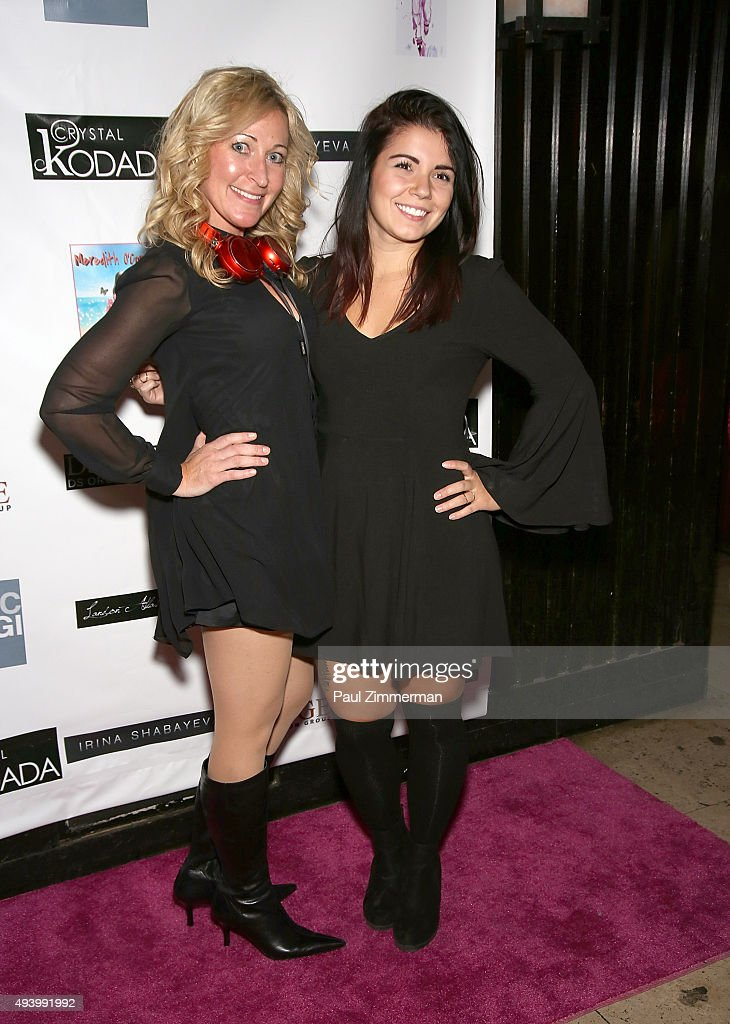 Michelle Lee (L) and DJ Christina attend the Meredith O'Connor Album Release Party benefiting The Carol Galvin Foundation at The Park on October 23, 2015 in New York City.