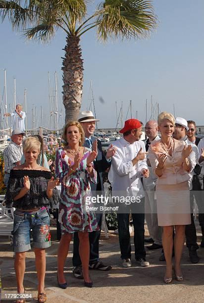 """Michelle , Leontine Gräfin von Schmettow , Rainer Wälde , Andreas C. Studer , Desiree Nick , ZDF-Show """"Die Frühlingsshow"""" , Yachthafen Marina..."""
