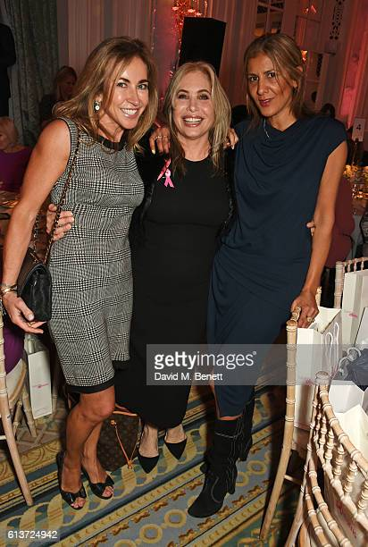 Michelle Lineker Brix Smith Start and Azzi Glasser attend the Future Dreams 'United For Her' Ladies Lunch 2016 at The Savoy Hotel on October 10 2016...