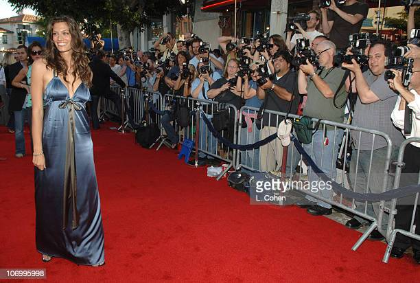 """Michelle Lombardo during """"Click"""" Los Angeles Premiere - Red Carpet at Mann Village Theatre in Westwood, California, United States."""