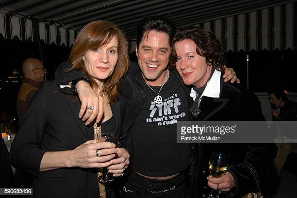 Michelle Loud Bryan Rabin and Delilah Loud attend Bryan Rabin Birthday Party at Chateau Marmont on March 5 2005 in West Hollywood California