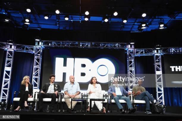 Michelle Maclaren, executive producer James Franco, executive producer David Simon, producer Maggie Gyllenhaal, executive producer George Pelecanos...