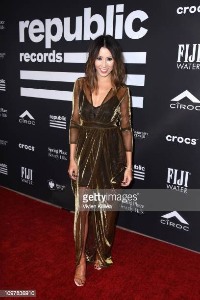 Michelle Marie at Republic Records Grammy after party at Spring Place Beverly Hills on February 10 2019 in Beverly Hills California