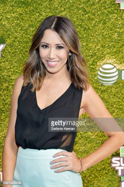 Michelle Marie attends DIRECTV CELEBRATES 25th Season of NFL SUNDAY TICKET at Nomad Hotel Los Angeles on July 17 2018 in Los Angeles California