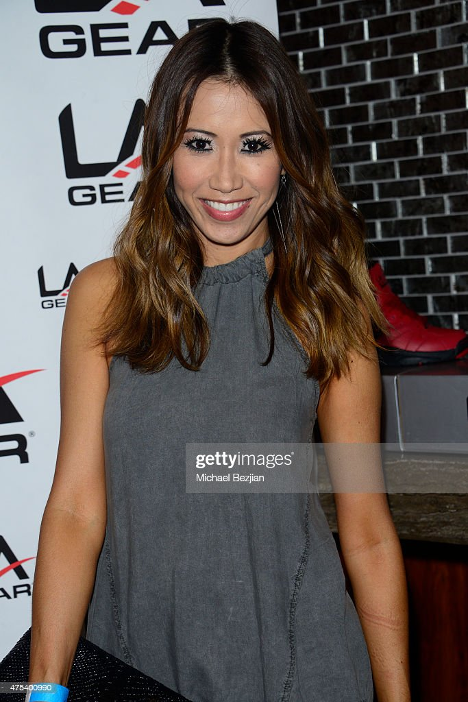 Michelle Marie attends LA Gear Presents Sports Spectacular Charity Basketball Game Hosted By Tyga on May 30, 2015 in Los Angeles, California.