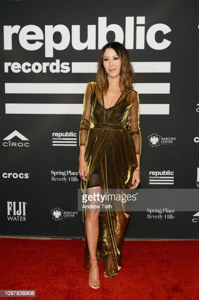 Michelle Marie attends Republic Records Grammy after party at Spring Place Beverly Hills on February 10 2019 in Beverly Hills California