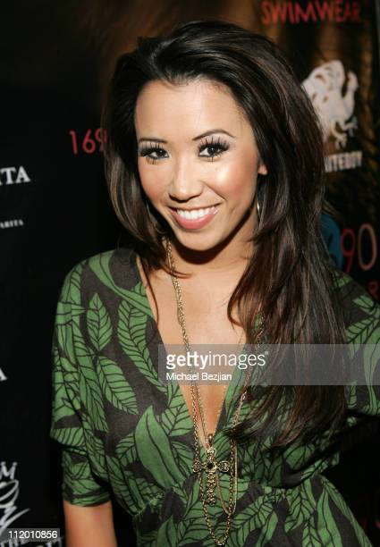 Michelle Marie during 1690 Swimwear Launch Party at Private Residence in Los Angeles California United States