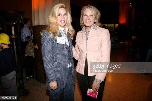 Michelle Marie Heinemann and Lynn Weinberg attend AMERICAN MUSEUM OF NATURAL HISTORY 2009 Family Party at American Museum of Natural History on...