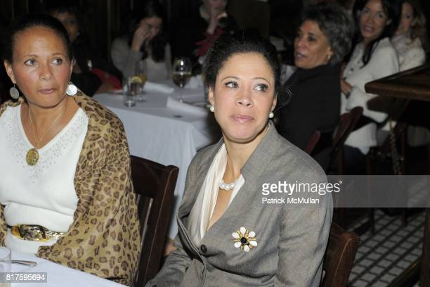 Michelle Marsh and Michelle Patterson attend DEBBIE BANCROFT Hosts Luncheon Honoring MICHELLE PAIGE PATTERSON at 99 PARK AVENUE TAVERN on December 13...
